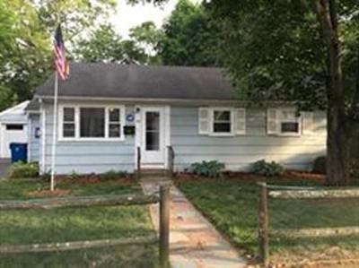 Randolph Single Family Home For Sale: 66 Hall St
