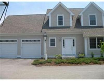 Sudbury Condo/Townhouse For Sale: 725 Boston Post Rd #12