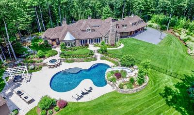 Dover MA Single Family Home For Sale: $5,900,000