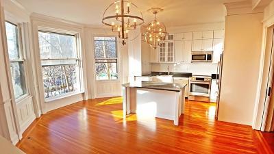 Brookline Rental For Rent: 338 Tappan St. #1