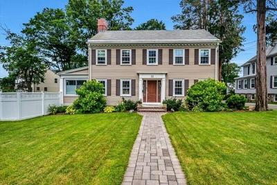 Woburn Single Family Home Under Agreement: 12 Mishawum Rd