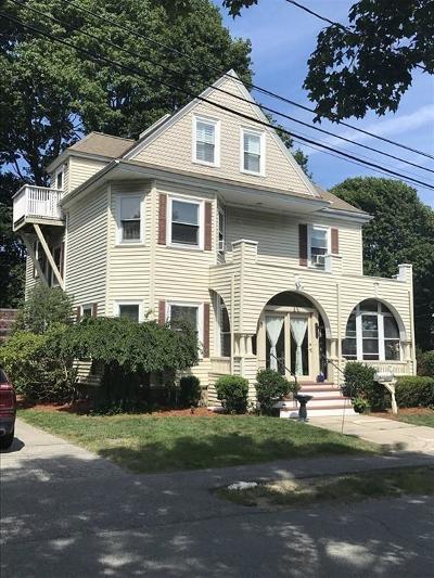Dedham Single Family Home For Sale: 7 Marion St