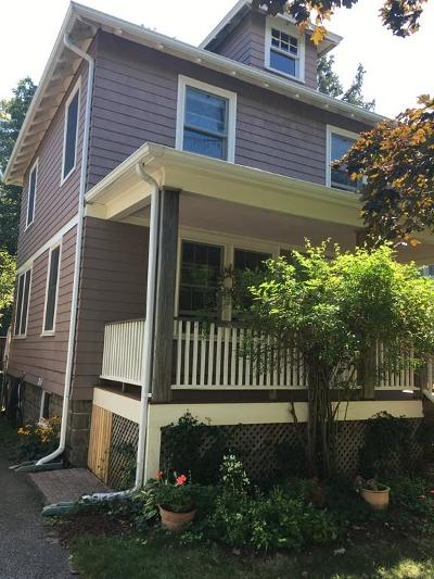 Quincy Single Family Home For Sale: 20 Willow Ave