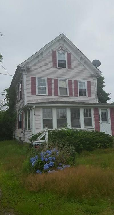 Stoughton Single Family Home Under Agreement: 1678 Central Street