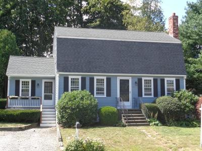Cohasset MA Single Family Home For Sale: $575,000