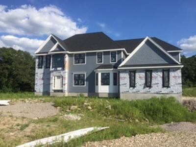 Wrentham Single Family Home Under Agreement: Lot 5 Amber Drive