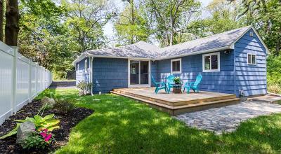 Holliston Single Family Home For Sale: 66 Lakeshore Dr