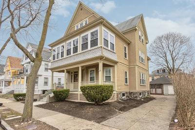 Arlington Rental Under Agreement: 21 Cleveland Street #2