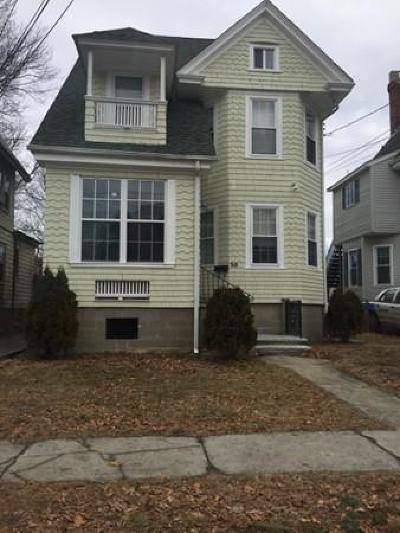 Milton Single Family Home For Sale: 38 Houston Ave