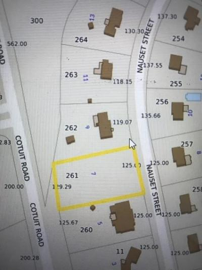 Sandwich Residential Lots & Land Under Agreement: 7 Nauset Street