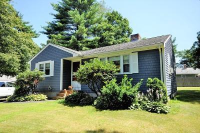 East Bridgewater MA Single Family Home For Sale: $299,900