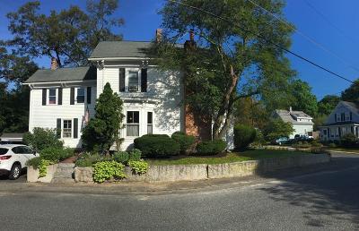 Holliston Single Family Home For Sale: 61 School Street