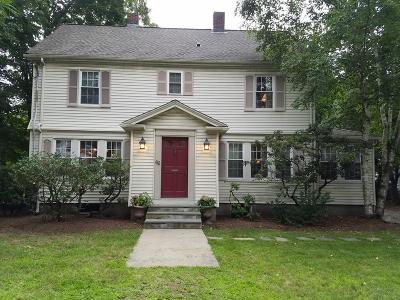 Newton Single Family Home For Sale: 62 Evergreen Ave