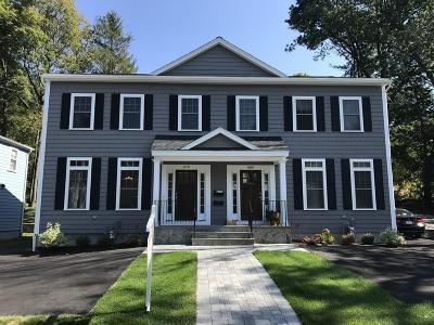 Newton Single Family Home For Sale: 878 Chestnut Street #1