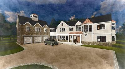 Brookline MA Single Family Home For Sale: $7,750,000