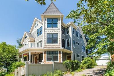 Somerville Single Family Home Under Agreement: 38 Chandler #B