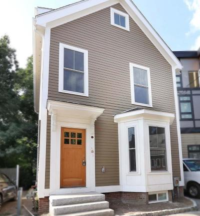 Somerville Single Family Home Under Agreement: 12 Beacon Pl #1