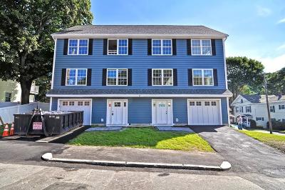 Stoneham Condo/Townhouse Contingent: 12 Hersam St #A
