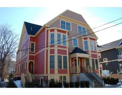 Cambridge Condo/Townhouse Reactivated: 18 Whitney Ave #1