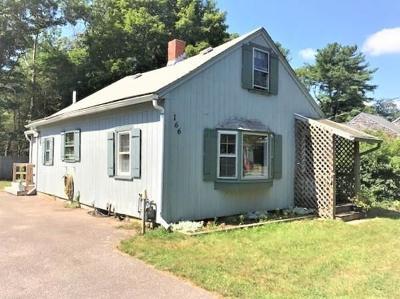 Middleboro Single Family Home For Sale: 166 Wareham St