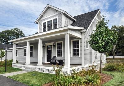 Hingham Single Family Home Under Agreement: 1 Taylor Lane