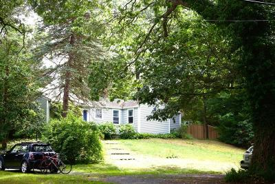 Duxbury Single Family Home Under Agreement: 287 Surplus St