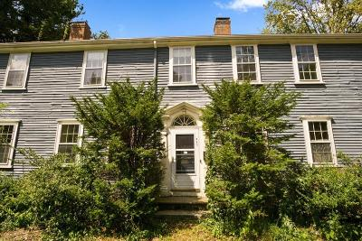 Dedham Single Family Home For Sale: 943 High Street
