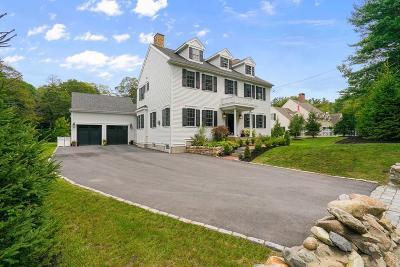 Milton Single Family Home For Sale: 10 Bradlee Rd