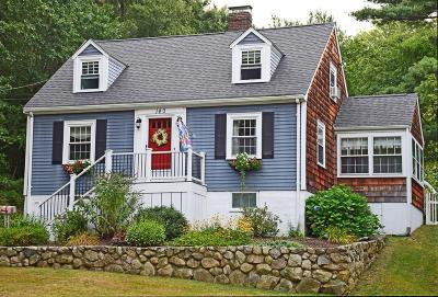 Hingham Single Family Home Contingent: 140 Cushing St
