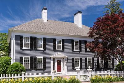 Cohasset Single Family Home For Sale: 30 Summer Street