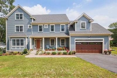 Arlington MA Single Family Home For Sale: $1,399,500