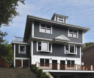 Brookline Single Family Home For Sale: 138 Winchester St #138