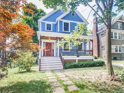 MA-Suffolk County Single Family Home Under Agreement: 99 Melville Ave #99