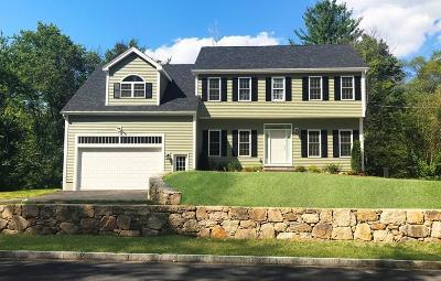 Holliston Single Family Home For Sale: Lot 8 Mayflower Landing #lot 8