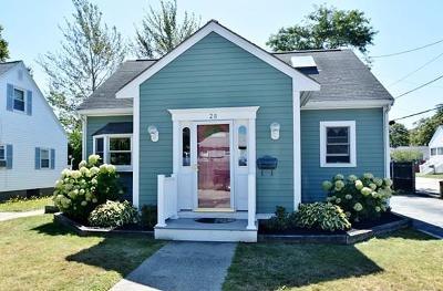 Hull Single Family Home For Sale: 28 E Street
