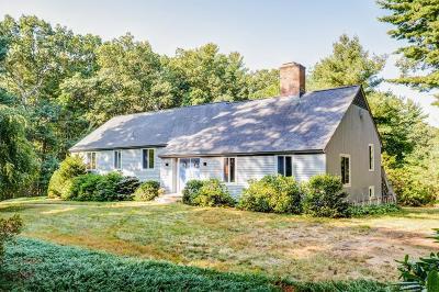 Sudbury MA Single Family Home For Sale: $780,000