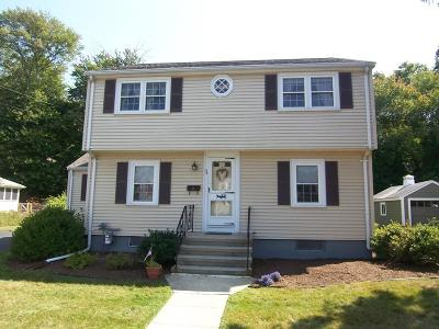 Braintree Single Family Home For Sale: 38 Stonewood Lane