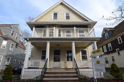 Arlington Rental For Rent: 11 Trowbridge Street #1