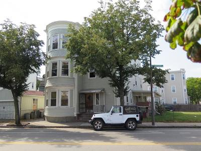 MA-Suffolk County Multi Family Home For Sale: 811-815 Dorchester Ave