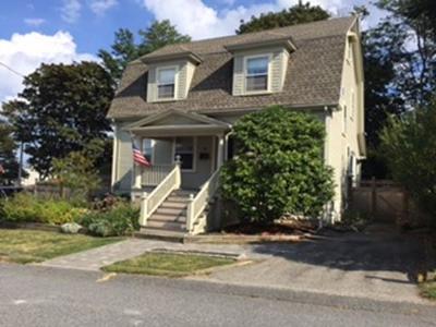 Hull Single Family Home For Sale: 16 Mayflower Avenue