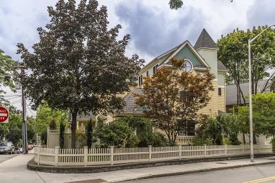 Cambridge, Somerville Condo/Townhouse For Sale: 123 Kinnaird Street #123
