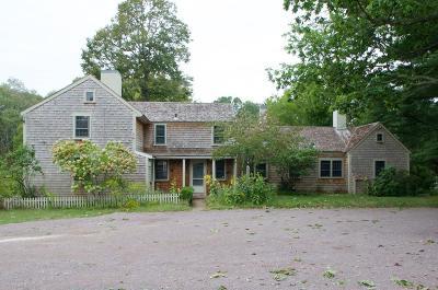Duxbury Single Family Home New: 809a Mayflower St
