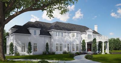 Brookline MA Single Family Home For Sale: $9,000,000
