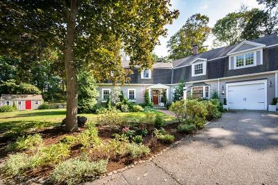 Cohasset MA Single Family Home For Sale: $1,589,000