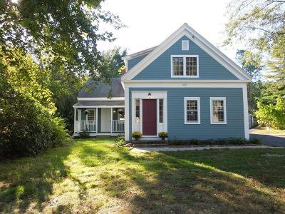 Hanson Single Family Home For Sale: 255 W Washington Street