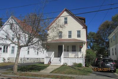 Quincy Single Family Home Under Agreement: 116 Taylor St