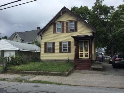 Taunton Single Family Home Under Agreement: 27 Barnum St