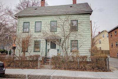 Cambridge Multi Family Home Under Agreement: 125 Pearl St