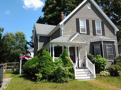 Rockland Single Family Home Under Agreement: 37 Monroe St
