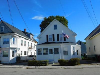 Lowell Single Family Home For Sale: 225 White Street